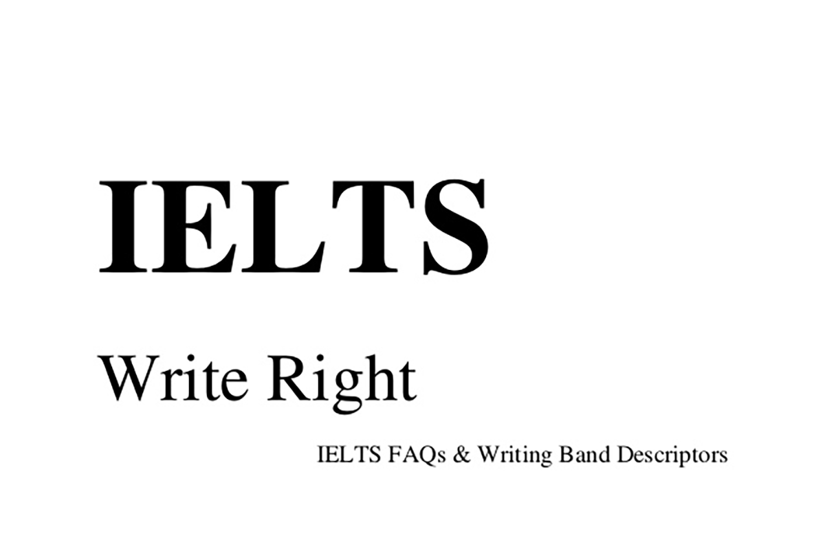 [Sách hay] IELTS Write Right