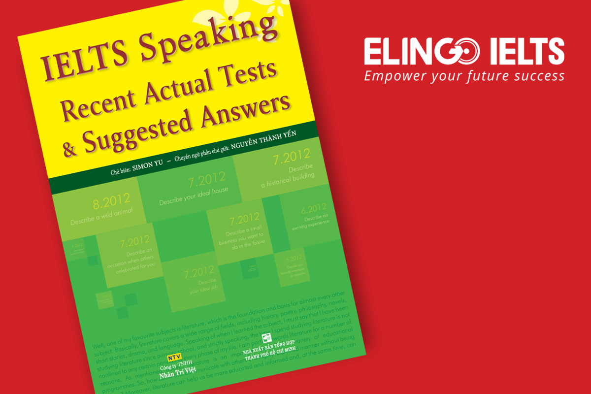 [Sách hay] IELTS Speaking Recent Actual Tests & Suggested Answers